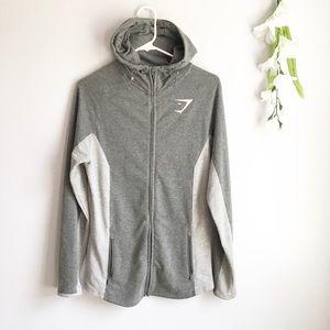 GymShark Fitted Zip Up Sweatshirt Hoodie Jacket